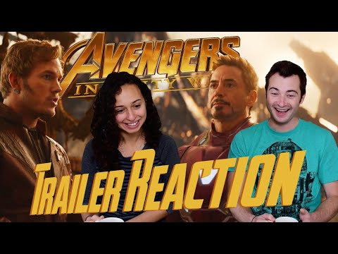 AVENGERS: INFINITY WAR Official Trailer REACTIONS!