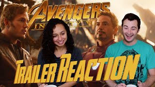AVENGERS: INFINITY WAR Official Trailer REACTIONS!