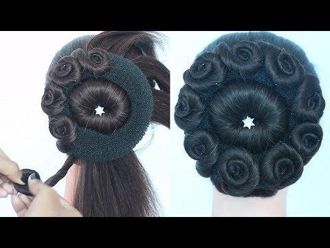 juda hairstyle for ladies || easy hairstyles || hair style girl || new hairstyle || ladies hairstyle thumbnail