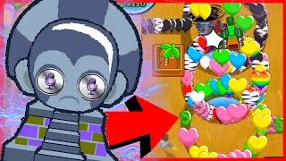 HE USED A SIRI HACK Bloons TD Battles BTD Battles Funny Moments