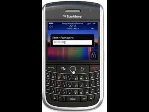 Blackberry Password Password on a Blackberry