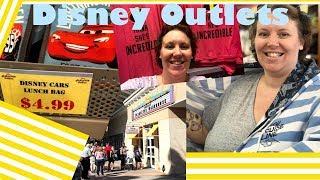 DISNEY OUTLET SHOPPING in Orlando! [4/24/19]