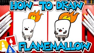 How To Draw Flamemallow From YouTube Kids App