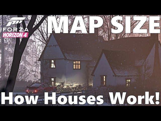 forza horizon 4 map size