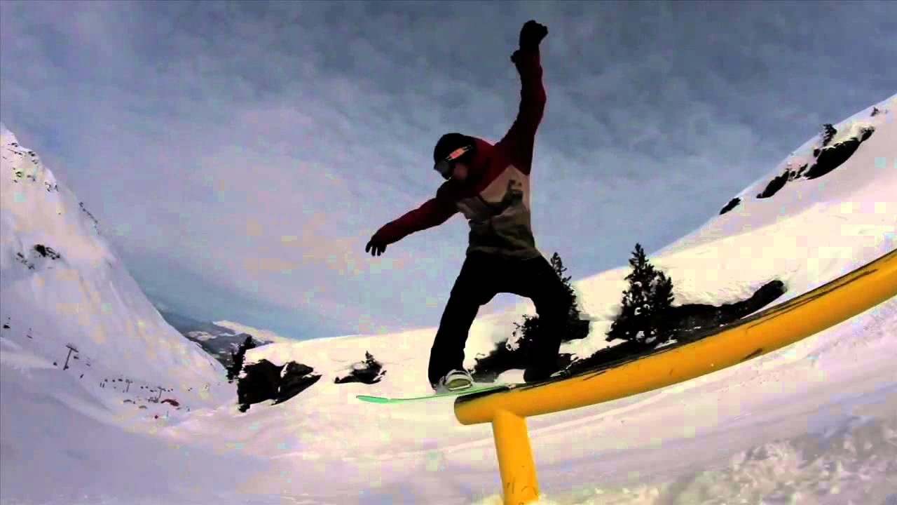Snowboard | Jani Sorasalmi - Top to Bottom Run @ DC Area 43