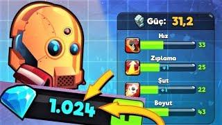 1250 ELMASLIK SÜPER KARAKTER PAKETİ ! ROBOT-NİK !! KAFA TOPU 2