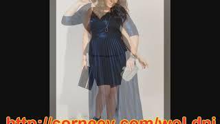 российские платья полных