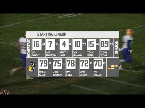 Homestead at Snider | IHSAA Sectional Football