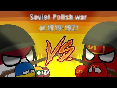 видео: Soviet-Polish war 1919-1921