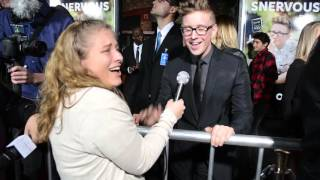 Tyler Oakley Interview at SNERVOUS Premiere