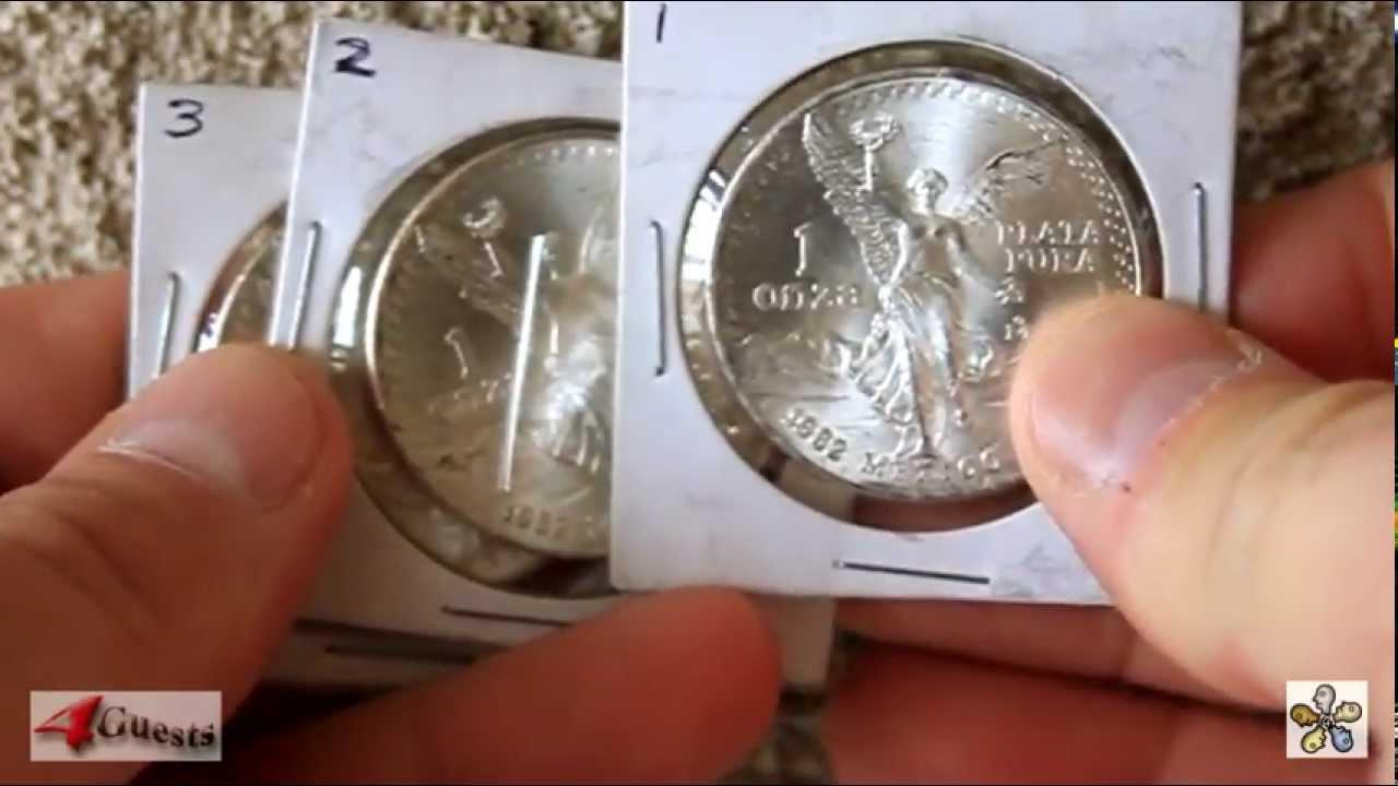 Mexico Rare 1998 LIBERTAD 1 Oz Onza Plata Pura Silver KEY DATE UNC