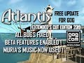 TRAILER 2019 ATLANTIS THE LOST TALES EXTENDED'S CUT : GOG WINDOWS10 FIX AND UNLOCK BETA FEATURES !