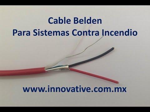 Cable belden para sistemas contra incendio thumbnail