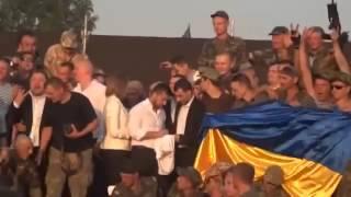 Квартал 95 выступает перед защитниками Донбасса!!!