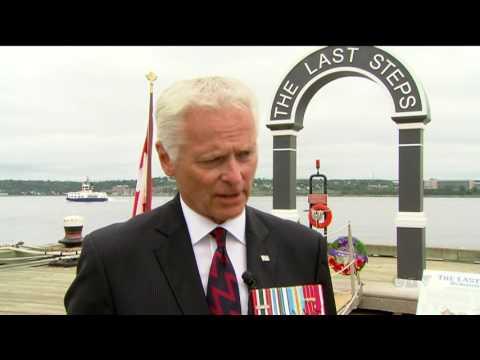 The last steps: Halifax harbour memorial honours sacrifice