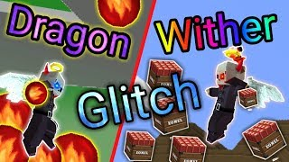 2 Ultimate Glitch in Lucky Sky wars!! [STRONGEST!] [BlockmanGo] [Insane] +100HP