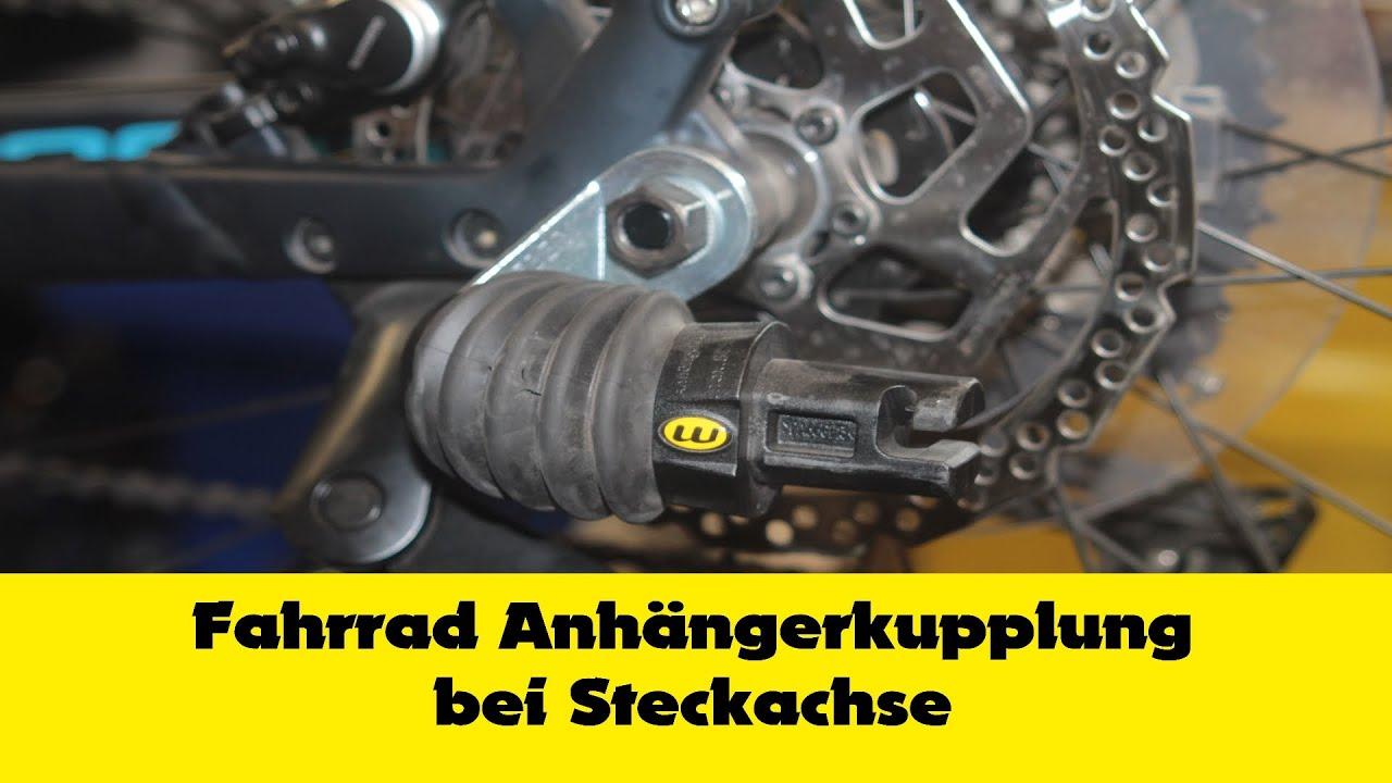 Kinderanhänger Qeridoo Kupplung Adapter Steckachse