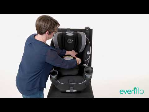 Evenflo EveryFit 4-in-1 Convertible Car Seat Install - Forward Facing With LATCH