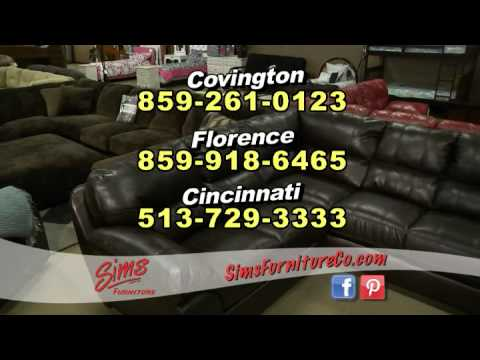 Sims Furniture Has 3 Locations
