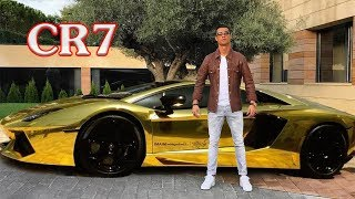 Collection of the most expensive cars of Cristiano Ronaldo (CR7)