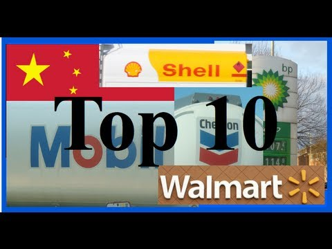 The Top 10 Largest Companies in the World (2013)
