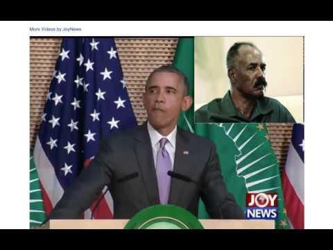 Presiddent Obama to the kinds of Isayas Afeworki