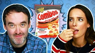 Irish People Try American Combos