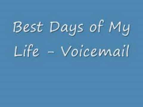 Voicemail - Best Days (w/ lyrics)