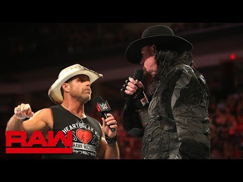 The Undertaker sends a chilling warning to Triple H and Shawn Michaels: Raw, Sept 3, 2018