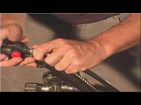 Scuba Diving Lessons : How to Assemble Scuba Equipment