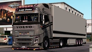 [1.34] Euro Truck Simulator 2 | Volvo Edit + Kogel Trailer | Mods