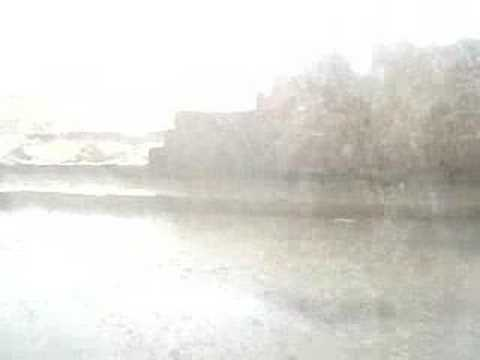 rain and hail storm in sanaa yemen