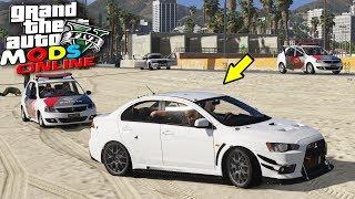 ROLE E FUGA COM O CARRO DO RD GAMEPLAY - GTA 5 MODS