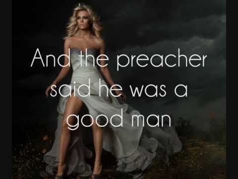 Carrie Underwood - Two Black Cadillacs [Lyrics On Screen]