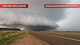 Wedge Tornado or Not? - Storm Spotting - Cuervo, New Mexico - 07 June, 2014