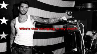 Sex And Candy  - Maroon 5 - Lyric karaoke