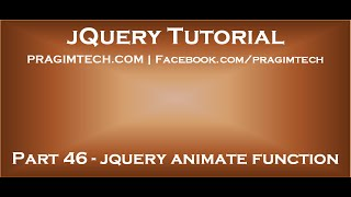 jQuery Animate Function