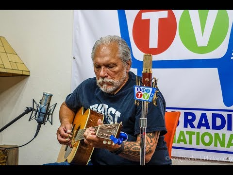 """Ain't In No Hurry"" Jorma Kaukonen Live at the Studios of Blues Radio International August 10, 2015"