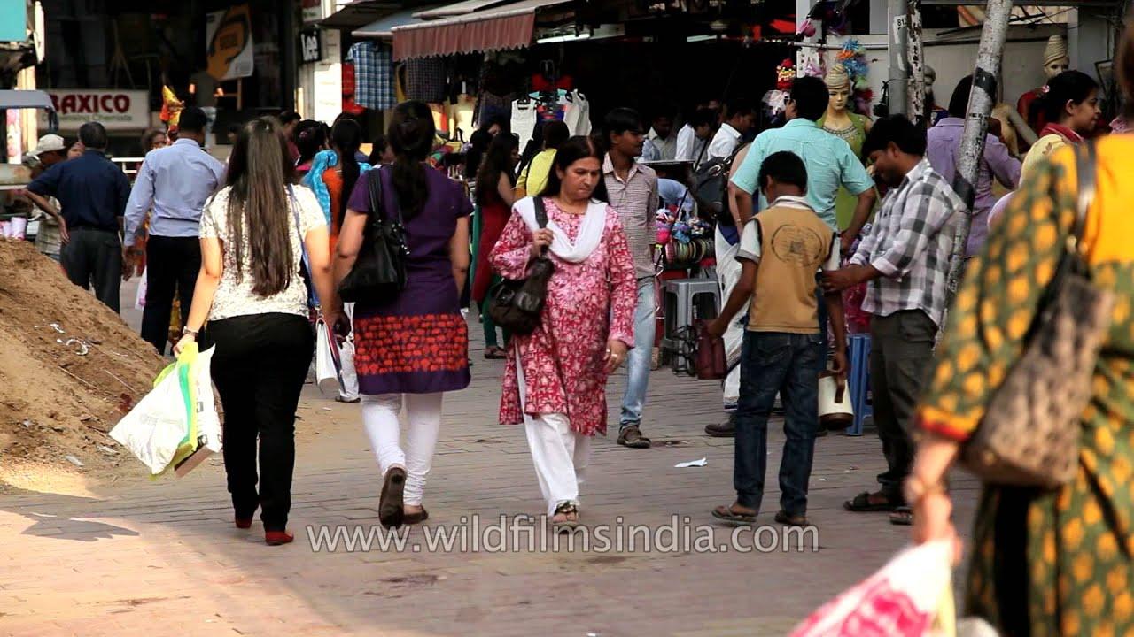 Shopping In Delhi Lajpat Nagar Central Market