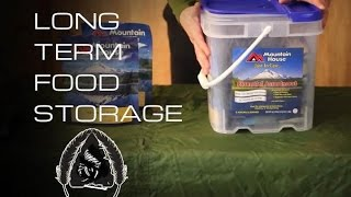 Long Term Food Storage- Black Scout Tutorials