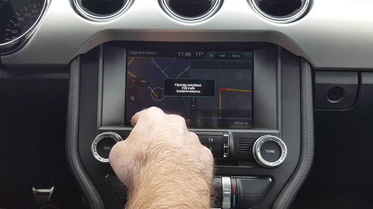Ford Sync 2 Navigation activation