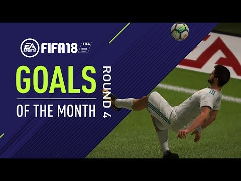 FIFA 18 | Goals of the Month | Round 4