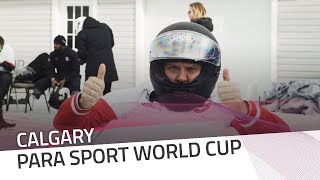 Canada Olympic Park try out the athletes | IBSF Para Sport Official