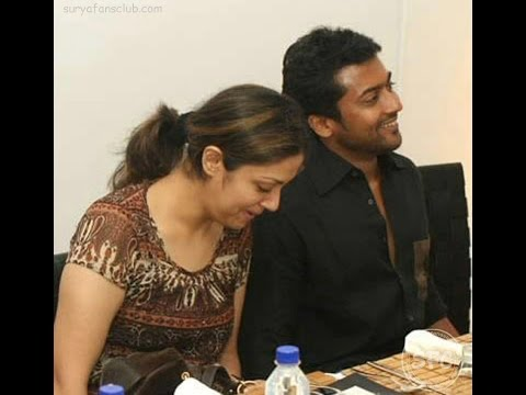 SURYA  and JYOTHIKA unseen rare real life pics ( must watch it)