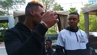 Jemell Charlo tells Errol Spence to his face I knockout all Southpaws