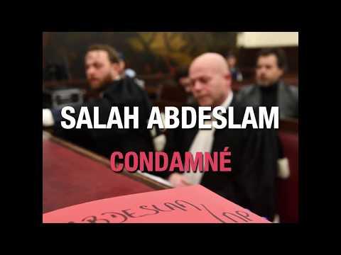Abdeslam condamné à 20 ans de prison