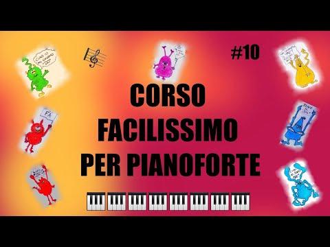 VIDEO LEZIONI DI PIANOFORTE-CORSO FACILISSIMO PER BAMBINI #10-MARCIA SU E GIÙ-THOMPSON VOL.1