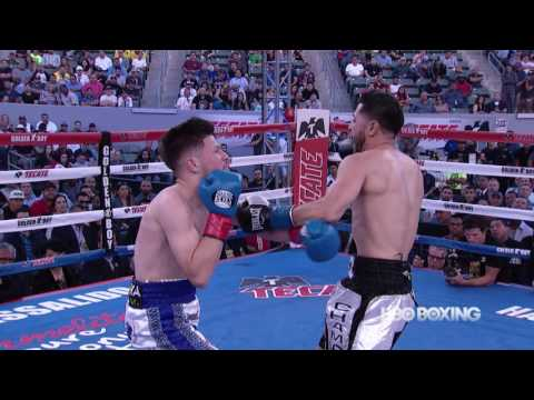 Julian Ramirez vs. Abraham Lopez Francisco:  Boxing After Dark Highlights (HBO Boxing)