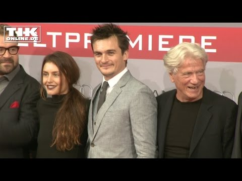 """Hitman - Agent 47"": Rupert Friend feiert Weltpremiere in Berlin"