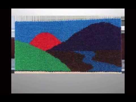 Rebecca Mezoff's online tapestry class student work, November 2014